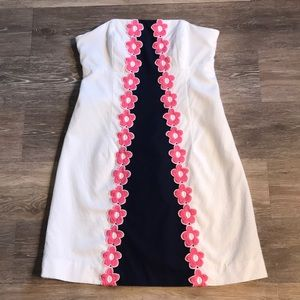 Lilly Pulitzer strapless dress!  Size 2!